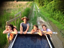 Car Ride at Shine and Rise Farm