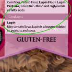 Lupin and Peanut Allergies: How the Industrial Food Sector Skirts FDA Approval