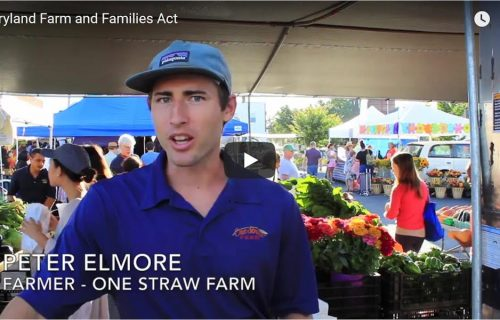 Video: Farmers Speak Out in Support of Maryland Farms & Families Act Funding