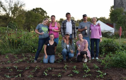 Weed and Wine: Fair Farms Volunteers Get Their Hands Dirty, Support Local Farm