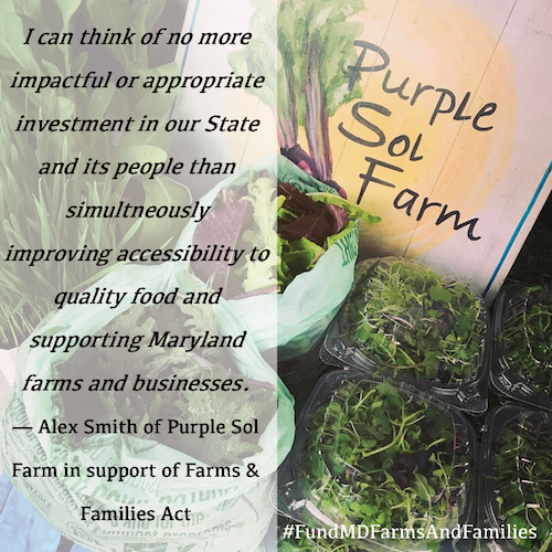 Purple Sol Farms and Families Act Testimonial