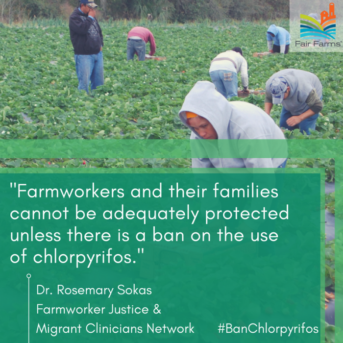 Farmworkers - chlorpyrifos graphic