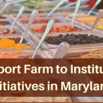 Support Farm to Institution Initiatives in Maryland