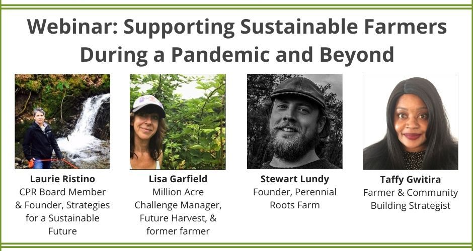 Webinar: Supporting Sustainable Farmers During a Pandemic & Beyond