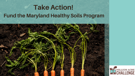 Take Action: Fund the Maryland Healthy Soils Program